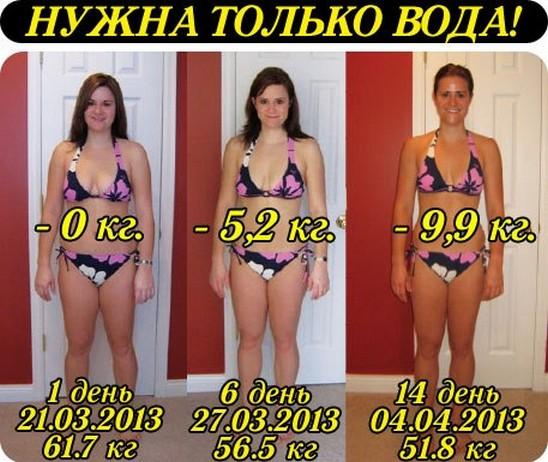 похудеть на 3 кг за месяц правильно
